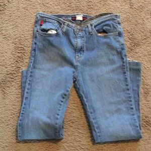 Pre-Owned Juniors' Size 7/8 Denim Blue Jeans